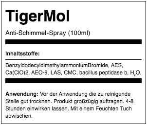 tigermol inhaltsstoffe
