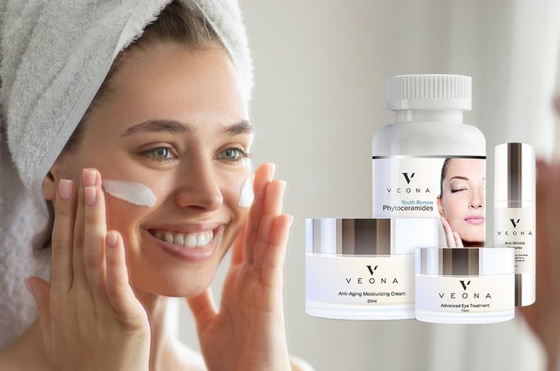 Veona Skincare im Test (2020) ᐅ Allround Anti-Aging Pflege?